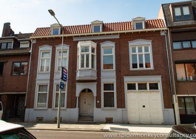 Heerlen, Oude Lindestraat en Kruisstraat