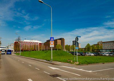 Maastricht, Mosae Vitae, P. Debeyelaan/Johan Willem Beyenlaan